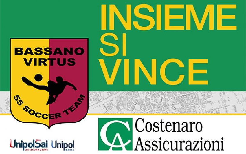 Costenaro Assicurazioni Sponsor Bassano Virtus 55
